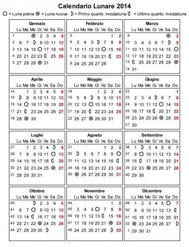 Calendario Lunare Potatura.Orto E Giardino